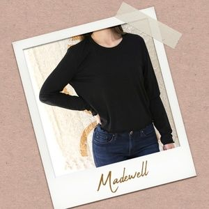Madwell Ruffled-Edge Tee